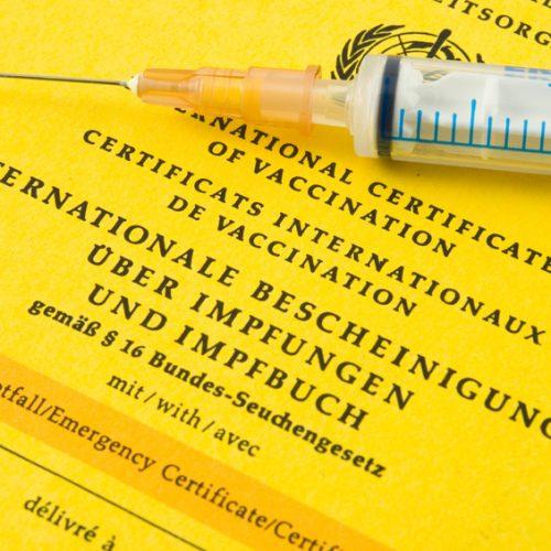Impfungen (gem. STIKO / Robert-Koch-Institut / Paul-Ehrlich-Institut)