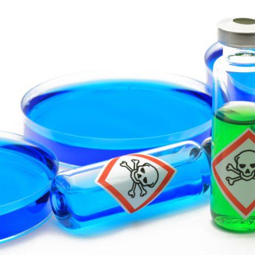 chemie giftflasche